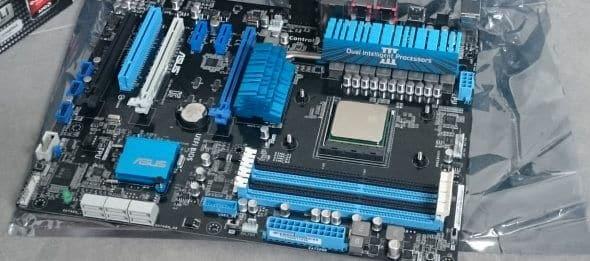 CPU auf Mainboard