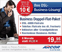 Arcor Business Doppel-Flat