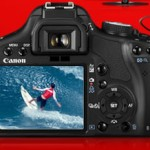 Canon 500D Display