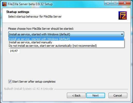 einfacher ftp server