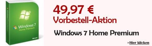 Windows-7 Vorbestellaktion