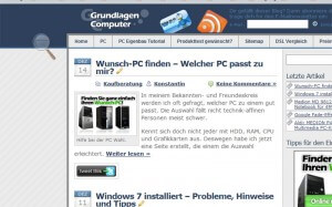 Zoomen mit Bildschirmlupe in Windows 7