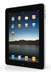 Apple iPad Seitenansicht