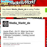 Media Markt iPad