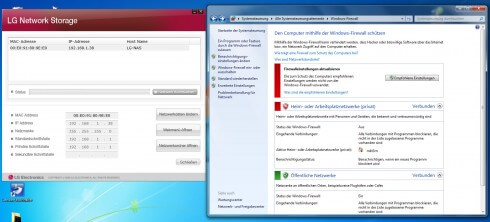 NAS geblockt: Windows-Firewall