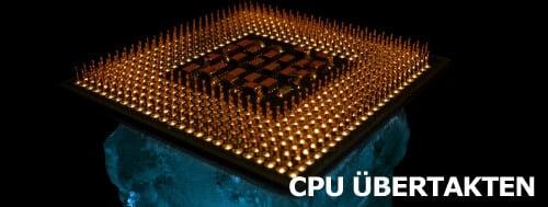CPU übertakten
