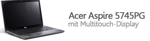Acer Aspire 5745PG Multitouch
