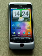 HTC Desire Z Produktbild
