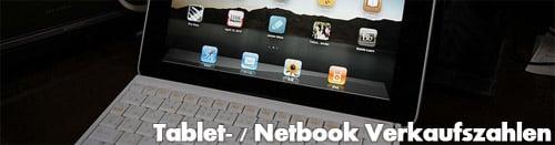 Tablet und Netbook Verkaufszahlen