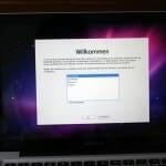 Apple Macbook Ersteinrichtung machen