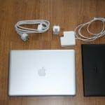 Macbook Pro Lieferumfang in der Übersicht