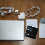 kompletter Macbook Pro Lieferumfang