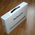 Macbook Paket Back-Ansicht