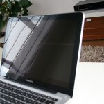 Macbook Pro Spiegelung des Displays