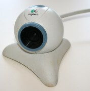 alte Logitech Webcam