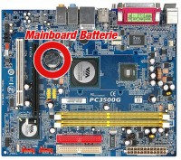 Mainboard Batterie
