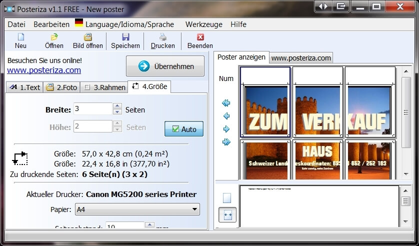 freeware software f r poster druck the rasterbator