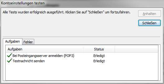 kein mailempfang windows 10