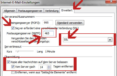 kein email empfang yahoo