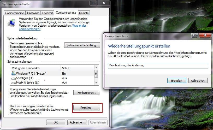 gelöschte bilder wiederherstellen windows 7