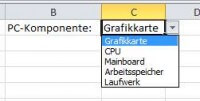 Dropdown Excel