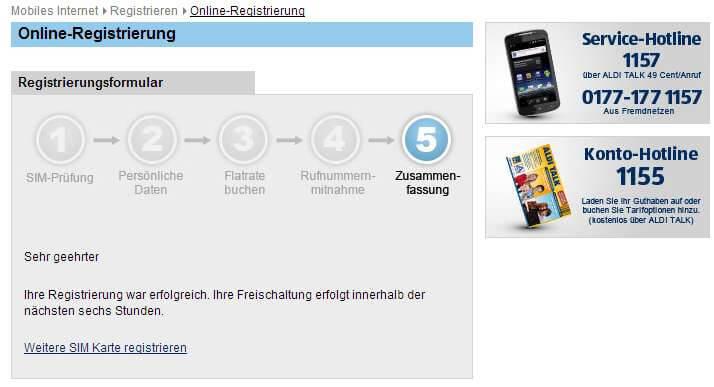 Zweite SIM Karte: Aldi-Talk Prepaid im Netz von E-Plus