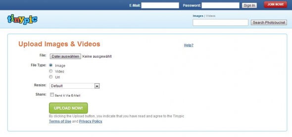 Upload Seiten Ohne Anmeldung