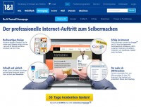 1und1 Do it yourself Homepage