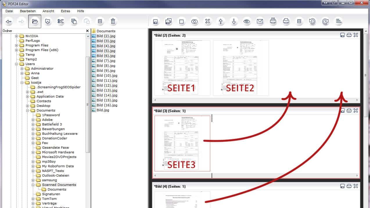 3 Methoden zum Zusammenf hren von PDFs in einem Dokument