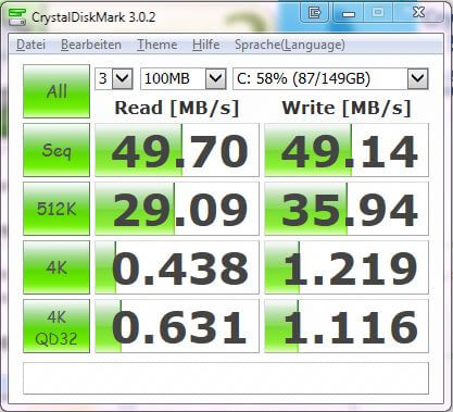 HDD Speed-Test