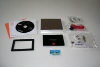 Samsung 840 SSD Lieferumfang