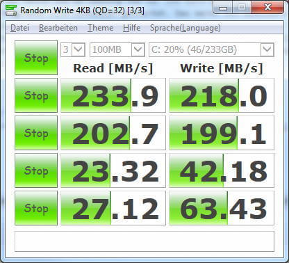 SSD Speed-Test