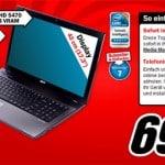 Acer 7741G-334G32Bn Aspire Notebook bei Media Markt für 699 EUR