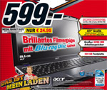 Acer Aspire 5738G-664G32BN Media Markt Notebook für 599 Euro