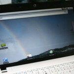 Android Netbook mit USB-Stick