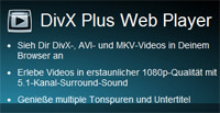Schnellere Alternative zum Adobe Flash Player: DivX Plus Web Player