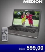 Aldi: 17,3″ Entertainment-Notebook Medion E7218 (MD 98680) ab 22.Juni