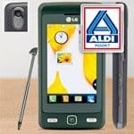 Aldi mit LG KP 501 Cookie Touchscreen Handy für 99,99 Euro