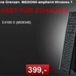 Aldi: MEDION E4100 D (MD8348) Computer ab 03.06.2010 für 399 EUR mit großer 750 GB Festplatte