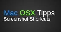 Anleitung: Mac OSX Screenshot erstellen