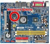 Mainboard-Batterie - Funktionen und Wechsel der BIOS-Batterie