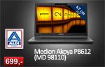 Aldi: Medion Akoya P8612 (MD 98110) Notebook für 699 €