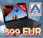 Medion MD 98250 Notebook bei Aldi für 599 EUR