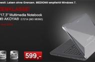 Aldi: Medion MD 98360 E7214 17,3″ Notebook ab 17.06.2010