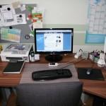 Blick hinter die Blogkulisse: Mein Arbeitsplatz 2010