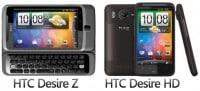 HTC Desire HD bestellen - Vorbestellung vom HTC Desire Z