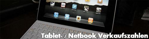 Tablets bald beliebter als Netbooks?