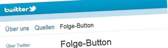 Twitter Folge-Button zum Einbinden