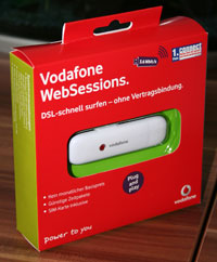 Vodafone Websessions UMTS-Stick Testbericht