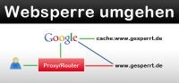 Im Firmennetzwerk gesperrte Seiten über Google-Cache anzeigen